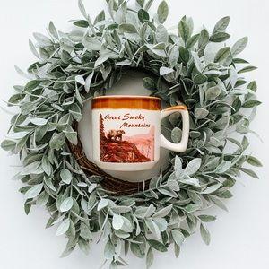 Vintage Great Smoky Mountains Souvenier Coffee Mug